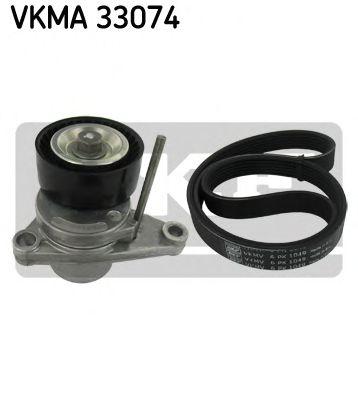 Поликлиновой ременный комплект SKF арт. VKMA33074