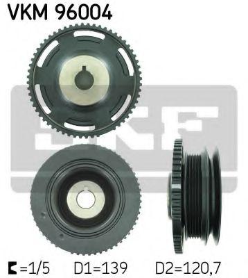 Шків ременя генератора SKF VKM96004