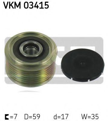 Муфта генератора SKF VKM03415