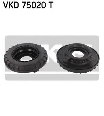 Підшипник кульковий d>30 амортизатора SKF VKD75020T