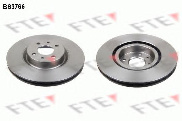 Тормозной диск FTE арт.