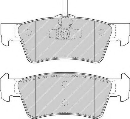 Колодки гальмівні дискові Ferodo FDB1460