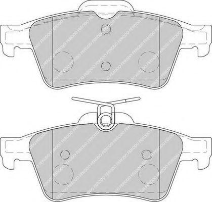 Комплект тормозных колодок, дисковый тормоз FERODO арт. FDB1766