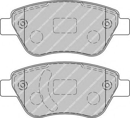 Комплект тормозных колодок, дисковый тормоз FERODO арт. FDB1920