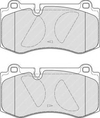 Комплект тормозных колодок, дисковый тормоз FERODO арт. FDB4055