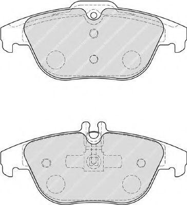 Комплект тормозных колодок, дисковый тормоз FERODO арт. FDB4220