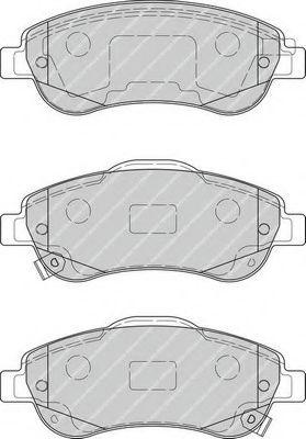 Комплект тормозных колодок, дисковый тормоз FERODO арт. FDB4228