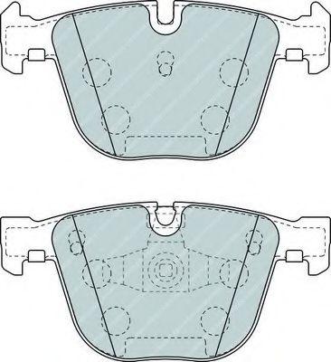Комплект тормозных колодок, дисковый тормоз FERODO арт. FDB4286