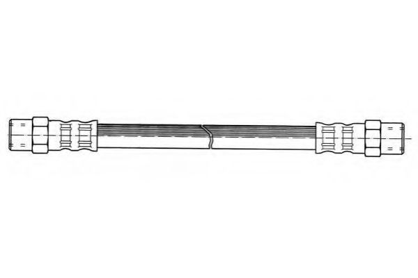 Тормозной шланг FERODO арт. FHY2000