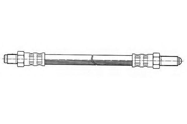 Тормозной шланг FERODO арт. FHY2004