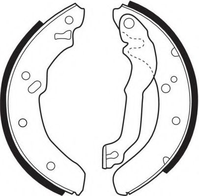 Комплект тормозных колодок FERODO арт. FSB226