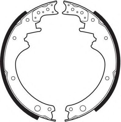 Комплект тормозных колодок FERODO арт. FSB250