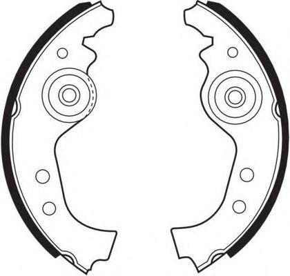 Комплект тормозных колодок Ferodo - FSB27