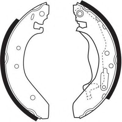 Комплект тормозных колодок FERODO арт. FSB271