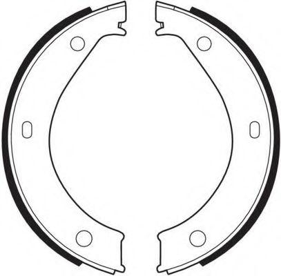 Комплект тормозных колодок, стояночная тормозная система FERODO арт.