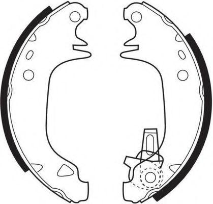 Комплект тормозных колодок FERODO арт. FSB293