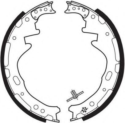 Комплект тормозных колодок FERODO арт. FSB317