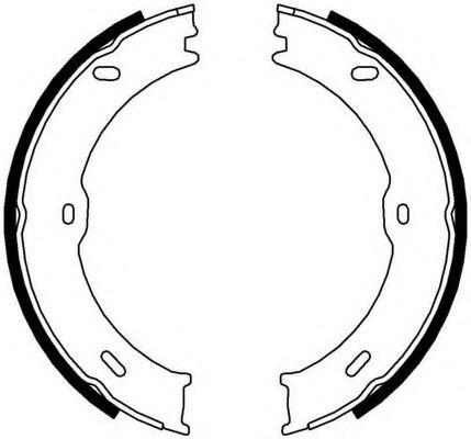 Колодки гальмівні барабанні Ferodo FSB4001