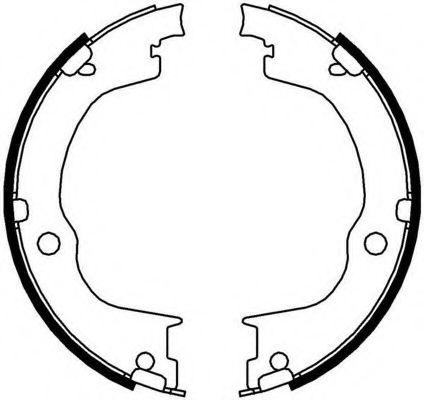 Колодки гальмівні барабанні Ferodo FSB4006