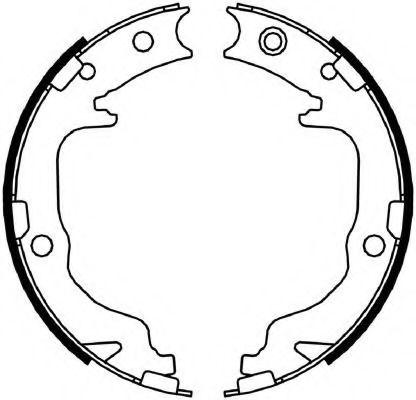 Колодки гальмівні барабанні Ferodo FSB4059