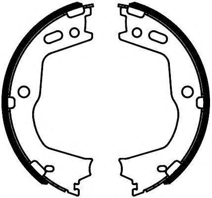 Колодки гальмівні барабанні Ferodo FSB4088