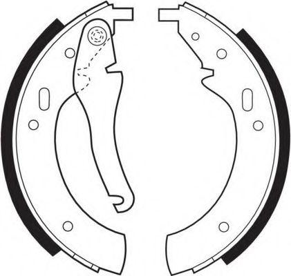 Комплект тормозных колодок FERODO арт. FSB97