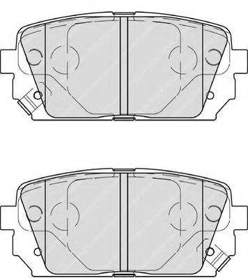 Колодки гальмівні дискові Ferodo FDB4193