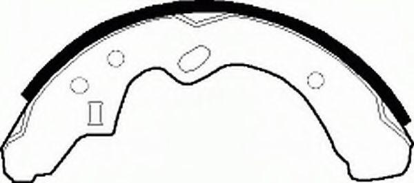 Комплект тормозных колодок FERODO арт. FSB239