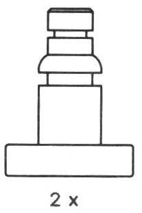 Комплект тормозных колодок FERODO арт. FSB249