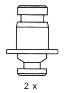 Комплект тормозных колодок FERODO арт. FSB257