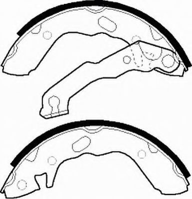 Комплект тормозных колодок FERODO арт. FSB310