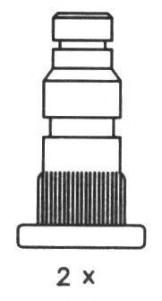 Комплект тормозных колодок FERODO арт. FSB324