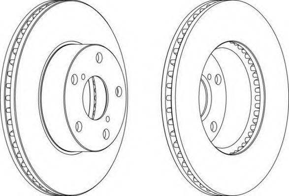 Тормозной диск FERODO арт. DDF1216