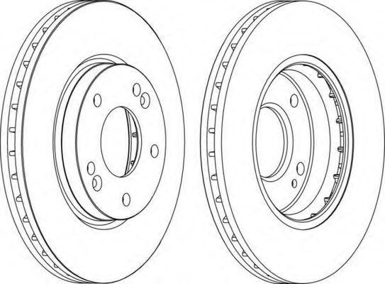 Тормозной диск FERODO арт. DDF1239