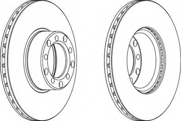 Тормозной диск FERODO арт.