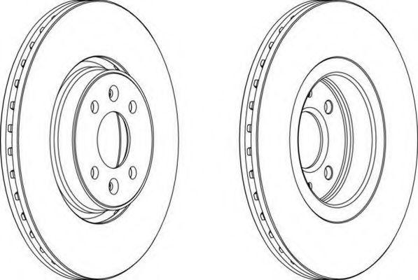 Тормозной диск FERODO арт. DDF1513