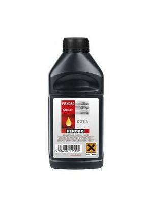 Тормозные жидкости Тормозная жидкость FERODO арт. FBX050