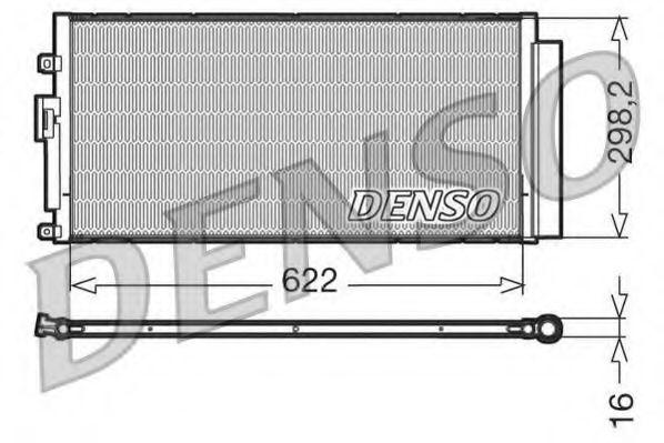 Конденсер кондиціонера Denso DCN09046