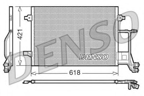 Радiатор кондицiонера Denso DCN02013