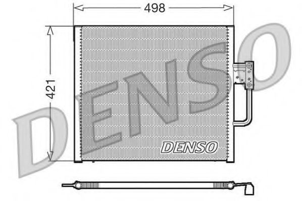 Радiатор кондицiонера Denso DCN05015
