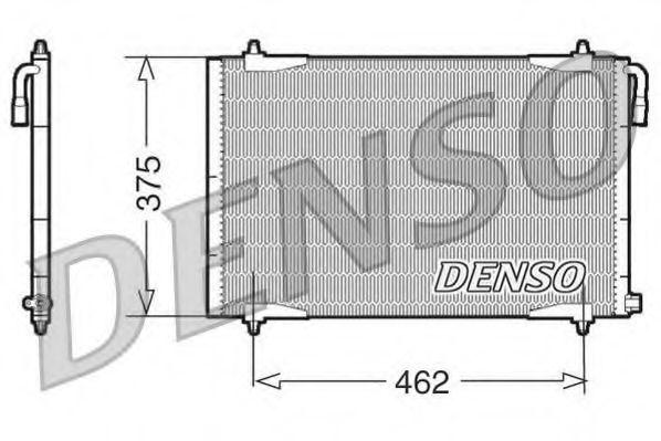 Радiатор кондицiонера Denso DCN21006
