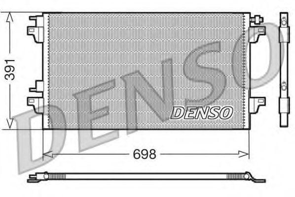Радiатор кондицiонера Denso DCN23015