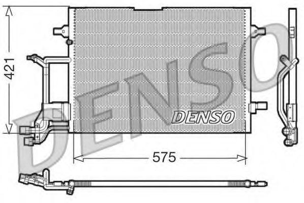 Радiатор кондицiонера Denso DCN32016