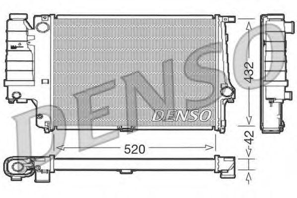 Радіатор охолоджування Denso DRM05064