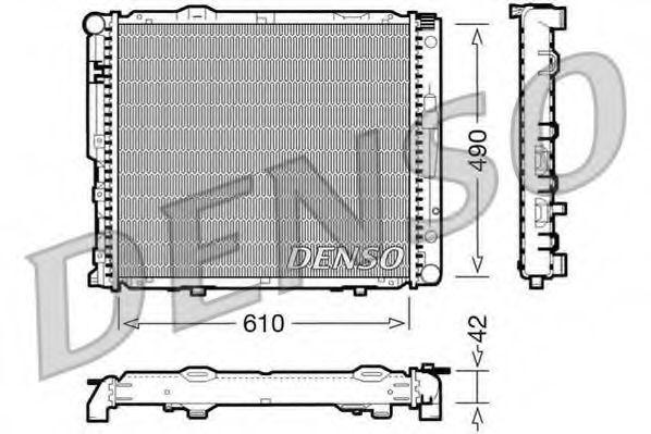 Радіатор охолоджування Denso DRM17033