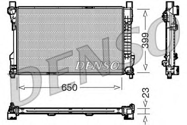 Радіатор охолоджування Denso DRM17081