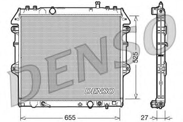 Радіатор охолоджування Denso DRM50045