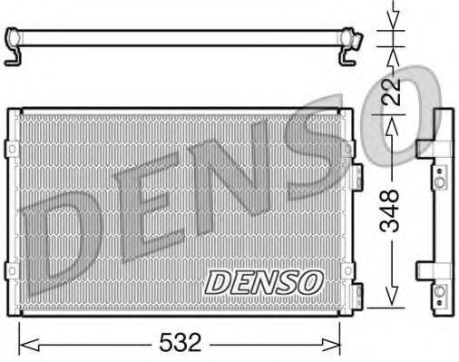 Радiатор кондицiонера Denso DCN06002