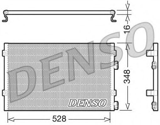 Конденсер кондиціонера Denso DCN06004