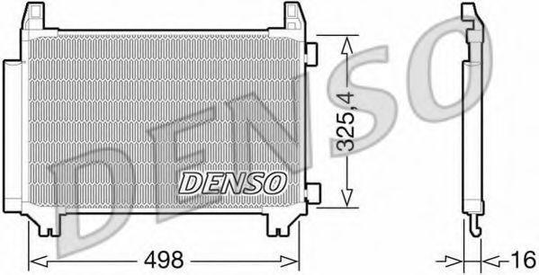 Конденсер кондиціонера Denso DCN50028